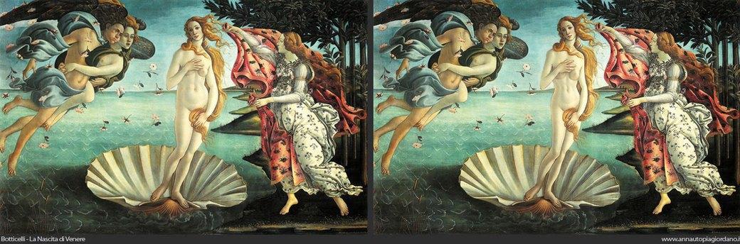 Венера как супермодель: Итальянка примеряет современные стандарты красоты на богиню любви. Изображение № 6.
