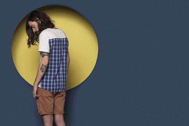 Французская марка Sixpack опубликовала лукбук весенней коллекции одежды. Изображение № 6.