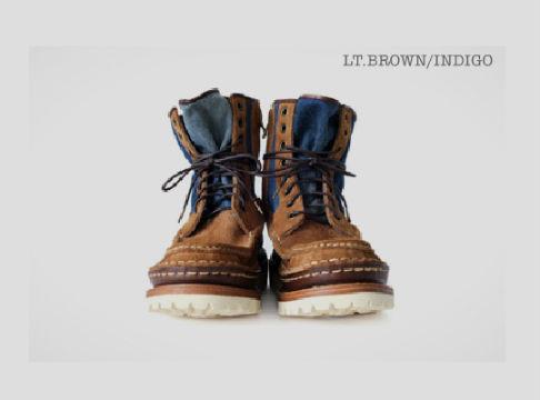 Новая модель ботинок и рубашка Visvim. Изображение № 1.