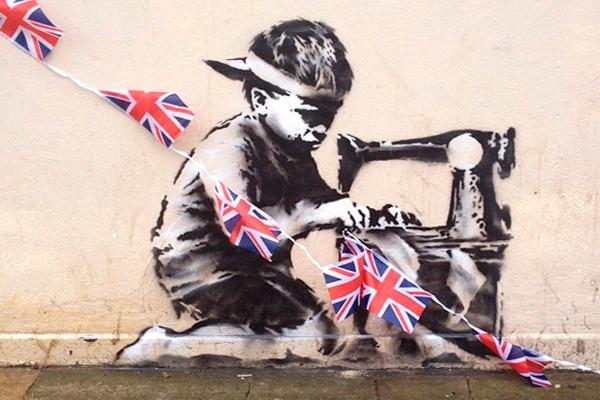 В Лондоне появилась новая работа Бэнкси. Изображение № 2.