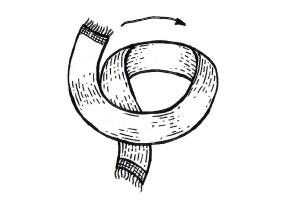How to: Как завязать шарф. Изображение №13.