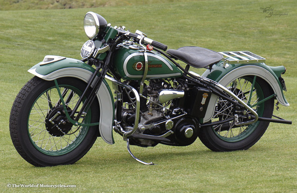 Harley Davidson Flathead. Изображение № 29.