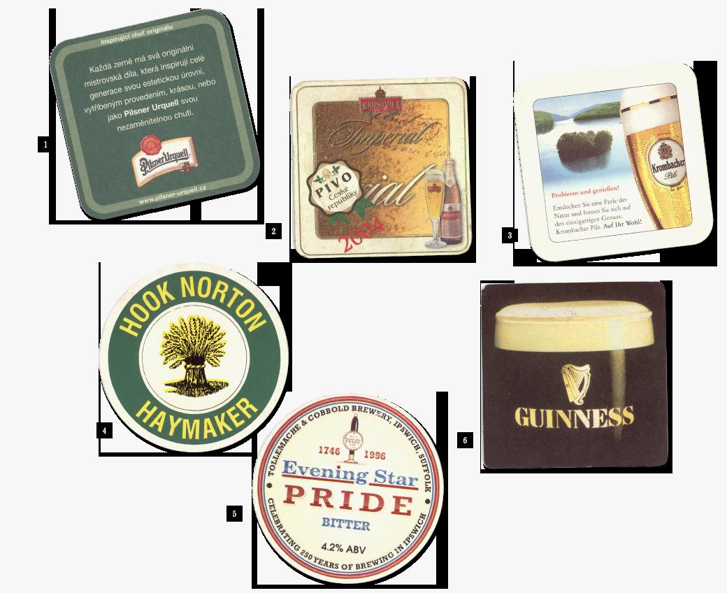 Коллекция бирдекелей: Избранные подставки под пиво дизайнера Никиты Трепцова. Изображение № 3.