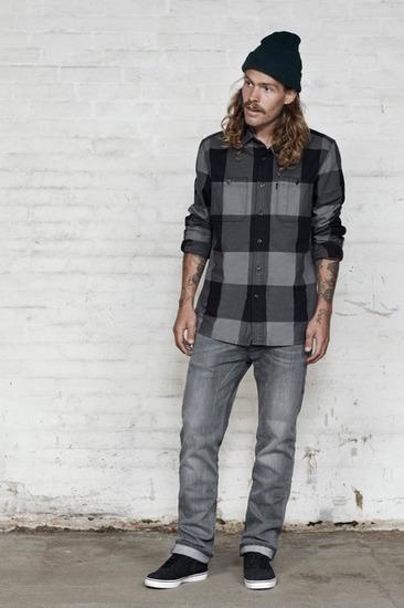 Марка Levi's Streetwear опубликовала осенний лукбук. Изображение № 11.