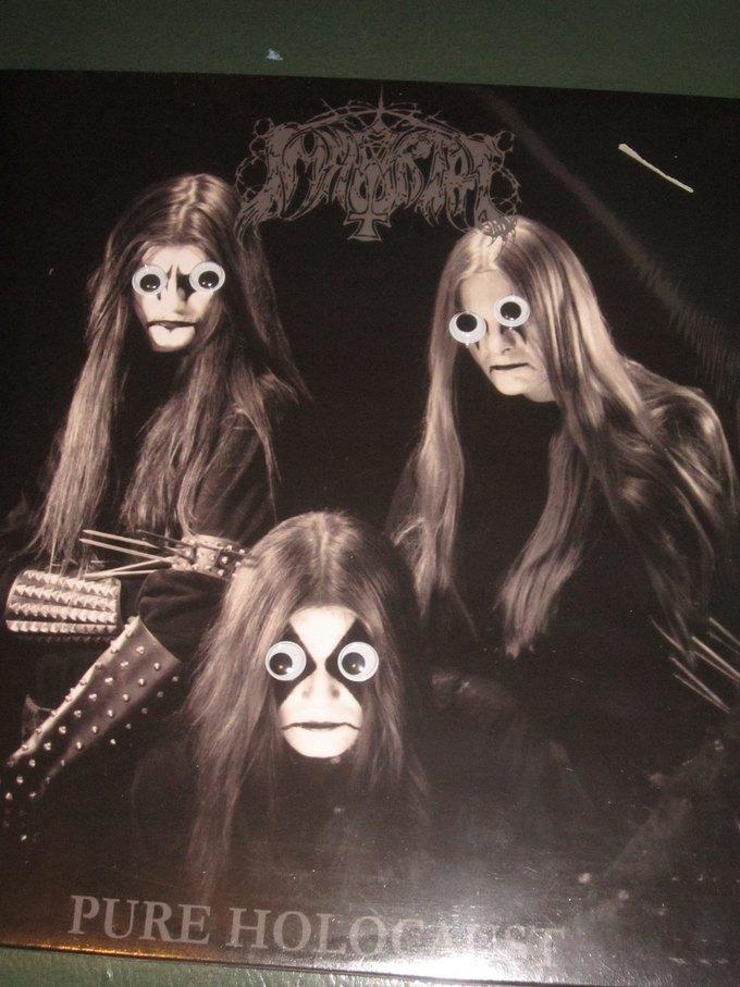 Metal Albums with Googly Eyes: Блог смешного кастомайзинга альбомов тяжёлой музыки. Изображение № 5.