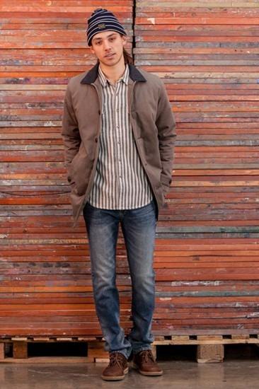 Марка Obey опубликовала лукбук осенней коллекции одежды Holiday. Изображение № 8.