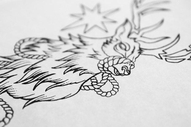 Стартовал второй этап тату-акции Wild Tattoo в честь защиты животных. Изображение № 1.