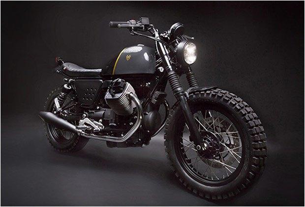 Стефан Вернье построил новый кастом на базе Moto Guzzi V7 Stone . Изображение № 1.
