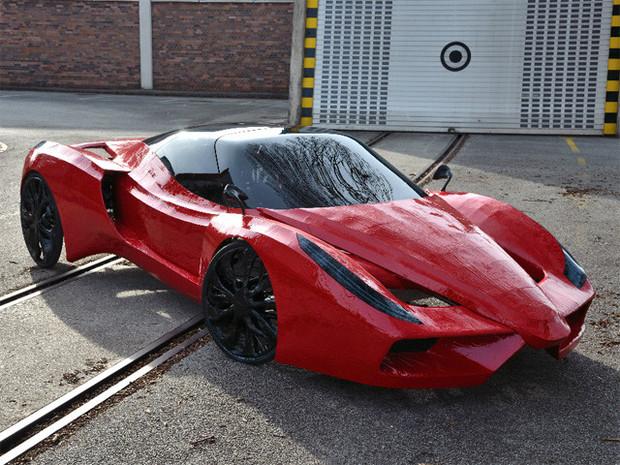 В Австрии сделали самый медленный в мире Ferrari. Изображение №2.
