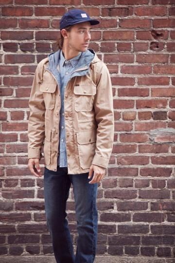 Марка Obey выпустила лукбук весенней коллекции одежды. Изображение № 19.