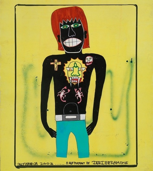 Художник Шепард Фейри открыл выставку рисунков басиста Ramones. Изображение № 1.