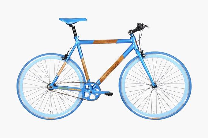 Под маркой Greenstar Bikes вышел первый велосипед из бамбука. Изображение № 3.