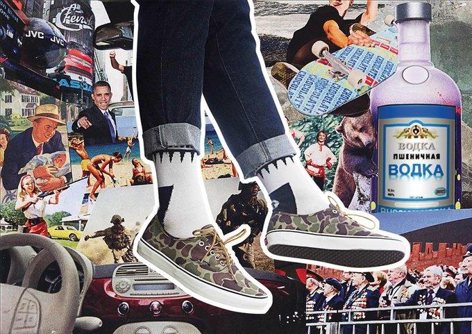 Марки Ziq & Yoni и Vans представили совместную коллекцию одежды. Изображение № 7.