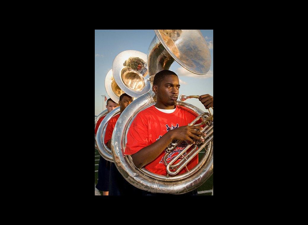 Труба зовёт: Как соревнуются школьные музыкальные оркестры в США. Изображение № 9.