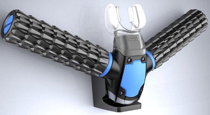Кореец изобрёл дайверскую маску, вырабатывающую кислород из воды. Изображение № 1.