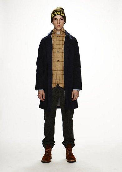 Марка Woolrich Woolen Mills опубликовала лукбук осенней коллекции одежды. Изображение № 1.