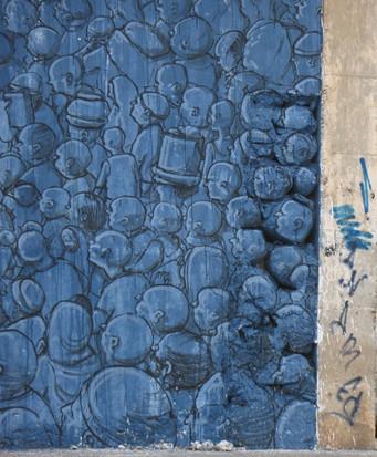 Уличный художник Blu представил новую работу в Марокко. Изображение № 4.