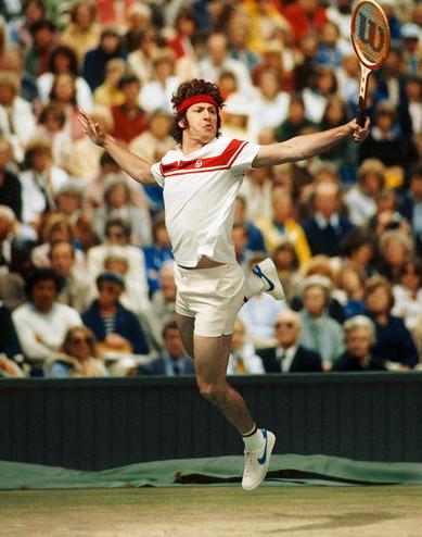 Пародия на легендарных теннисистов в журнале New York Times. Изображение № 4.