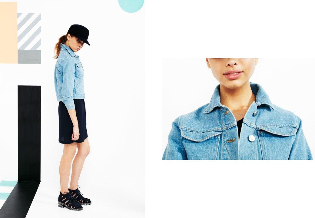 Магазин Kixbox выпустил лукбук весенней коллекции одежды. Изображение № 15.