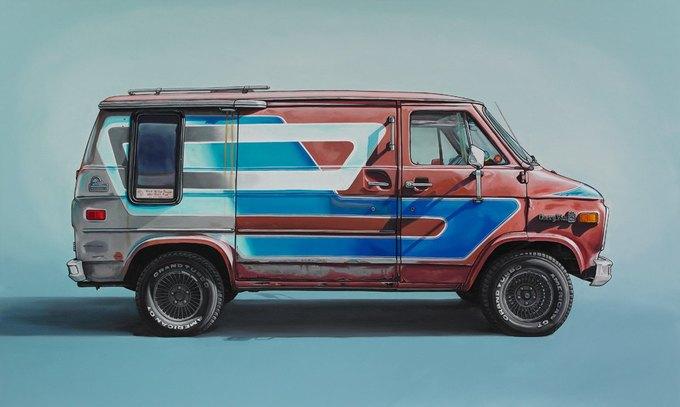 Кевин Сир: Граффити на фургонах как символ города. Изображение № 10.