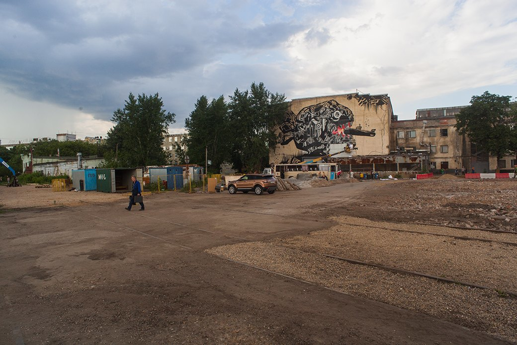 Outline: Как выглядят декорации самого масштабного рейва в городе. Изображение № 11.