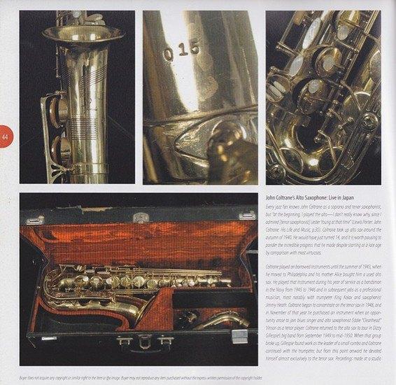 Саксофон Джона Колтрейна выставлен на интернет-аукцион eBay. Изображение № 6.