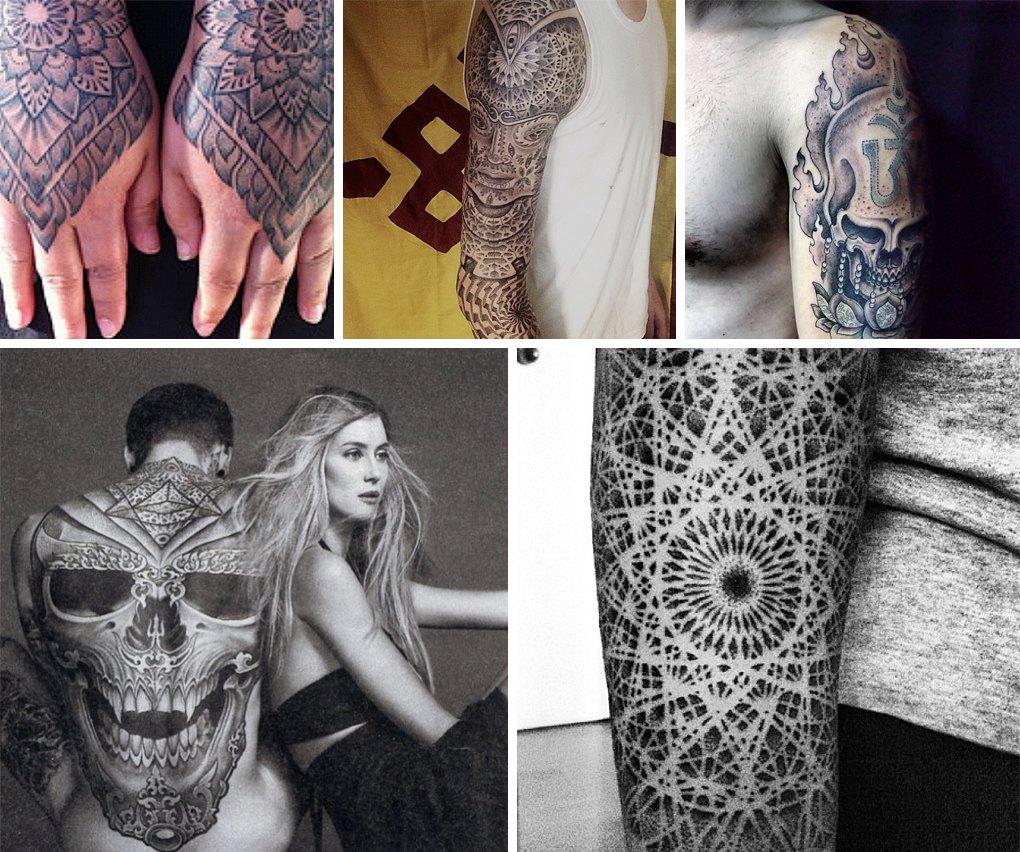 Что публикуют в своих Instagram известные татуировщики. Изображение №8.