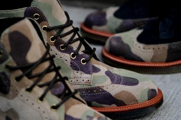 Дизайнер Ронни Фиг и марка Dr. Martens выпустили капсульную коллекцию обуви. Изображение № 6.