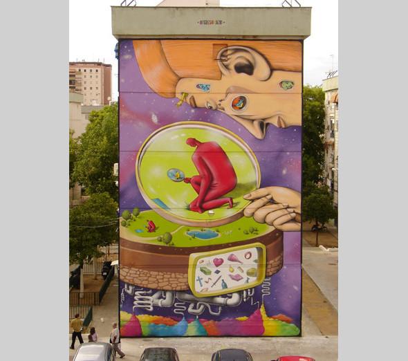 Скетчбук: Участники граффити-дуэта из Киева Interesni Kazki рассказывают о своих лучших работах. Изображение № 11.