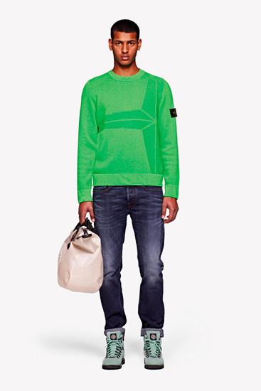 Stone Island выпустили лукбук осенней коллекции одежды. Изображение № 7.