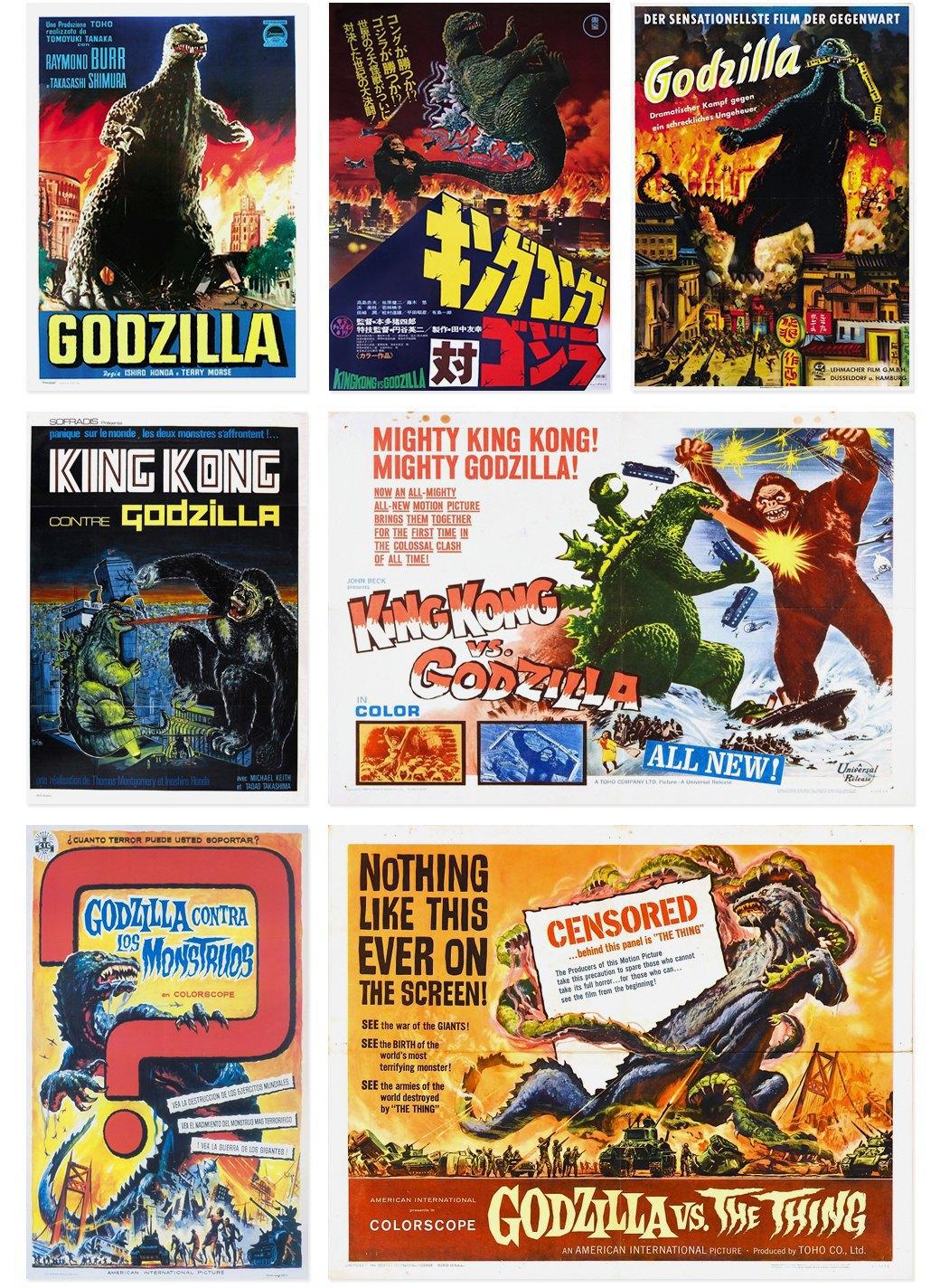 50 плакатов к фильмам о Годзилле. Изображение № 2.