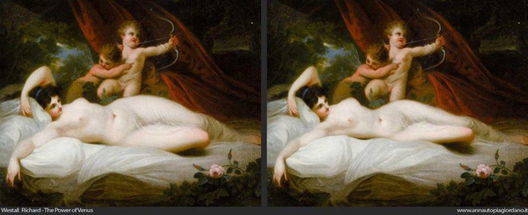 Венера как супермодель: Итальянка примеряет современные стандарты красоты на богиню любви. Изображение № 1.