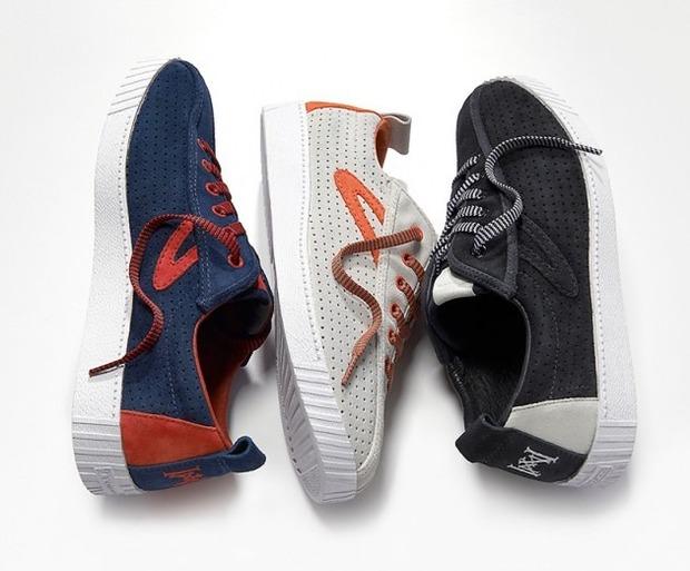 Марки Tretorn и White Mountaineering представили совместную коллекцию обуви. Изображение № 1.