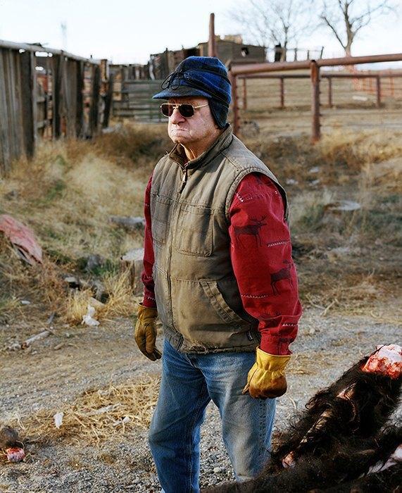 Бытовая жизнь работников бизоньего ранчо в США . Изображение № 6.