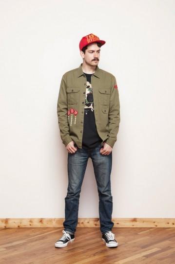 Американская марка 10.Deep выпустила лукбук весенней коллекции одежды. Изображение № 10.