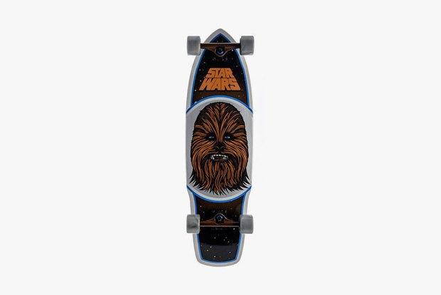 Марка Santa Cruz выпустила коллекцию скейтбордов с принтами Star Wars. Изображение № 1.