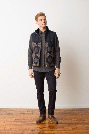 Марка Pendleton выпустила лукбук осенней коллекции одежды. Изображение № 18.
