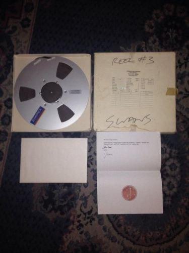 На ebay выставили пленку с оригиналом композиции Holy Money группы Swans. Изображение № 1.