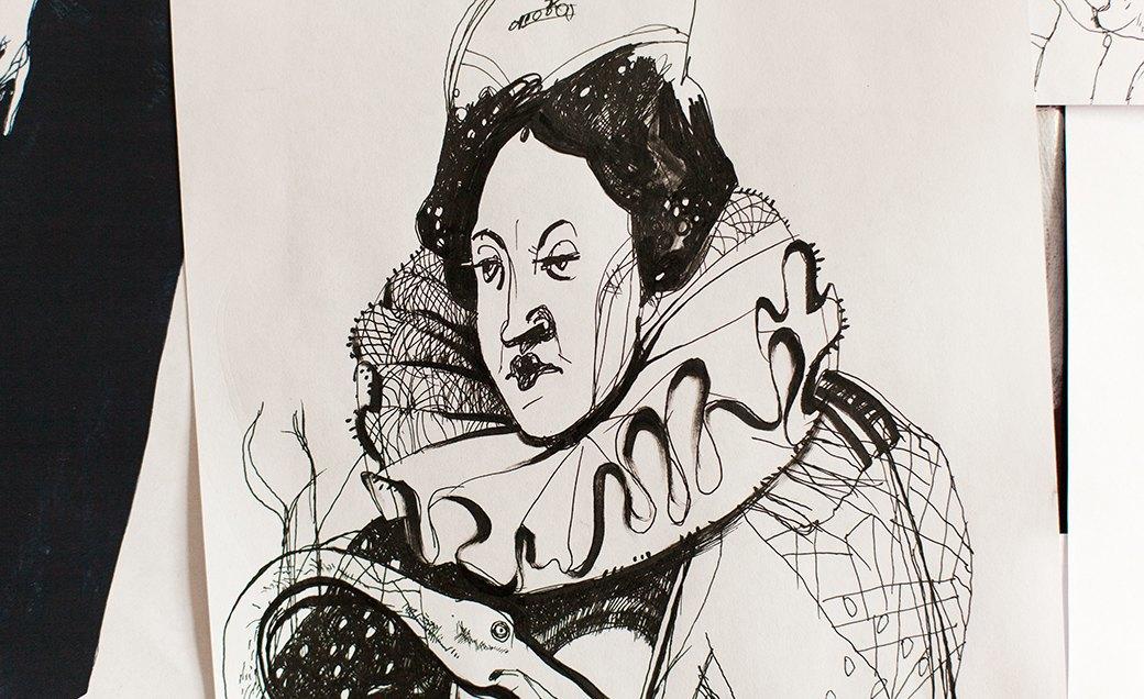 Дом культуры: Молодые московские художники и их мастерские. Изображение № 14.