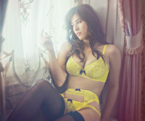 Актриса Милен Жампаной снялась в рекламе нижнего белья Agent Provocateur. Изображение № 4.