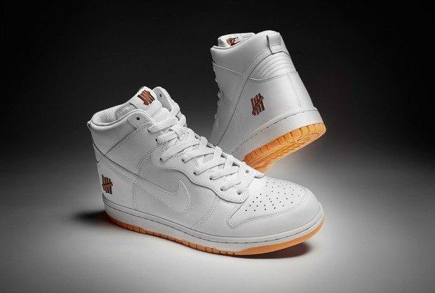 Марки Nike и Undefeated представили совместные модели кроссовок. Изображение № 2.