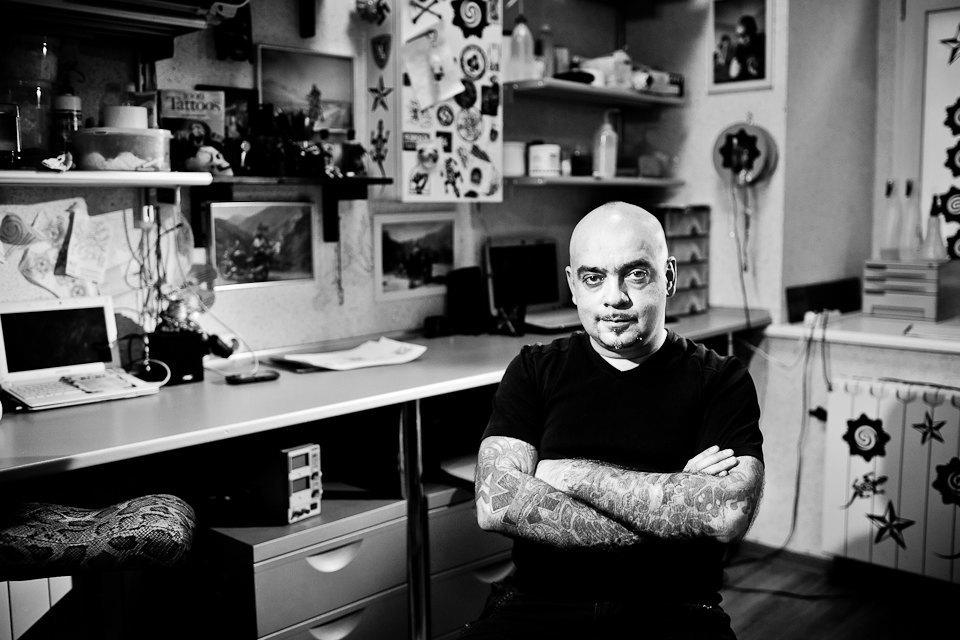 Бьет — значит любит: Старейшие татуировщики Москвы и их лучшие работы. Изображение № 25.
