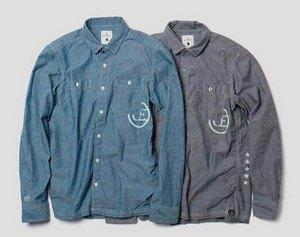 Марки Carhartt WIP и Uniform Experiment представили совместную коллекцию одежды. Изображение № 20.