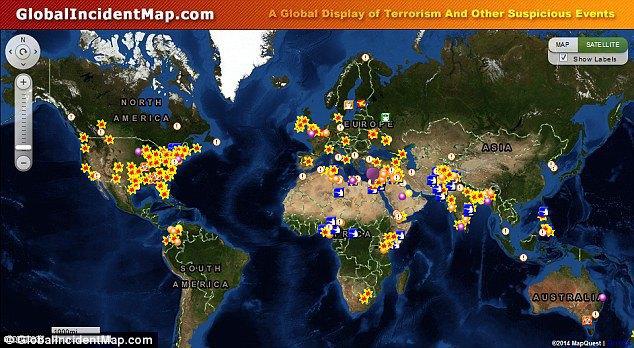 Создана интерактивная карта эпидемий. Изображение № 6.