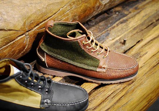 Совместная коллекция обуви марок Sebago, Filson и Woolrich. Изображение № 5.