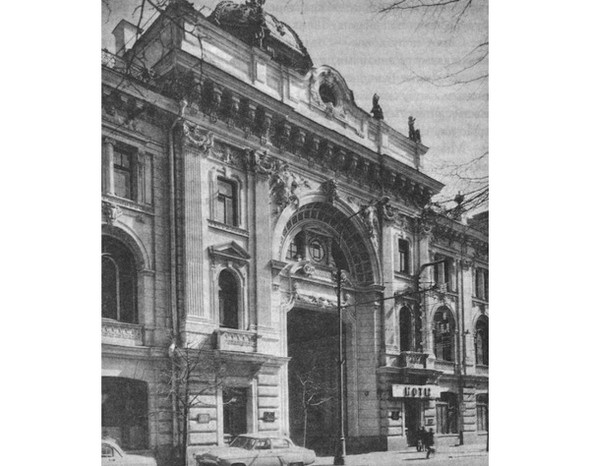 Сандуновские бани, 1895-1896 год. Изображение № 1.
