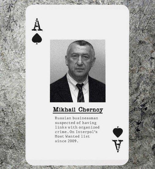 Агентам ФБР выдадут колоды карт с главарями «русской мафии». Изображение № 1.