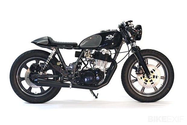 Мастерская Chappell Custom собрала новый байк на базе Yamaha SR500 . Изображение № 1.
