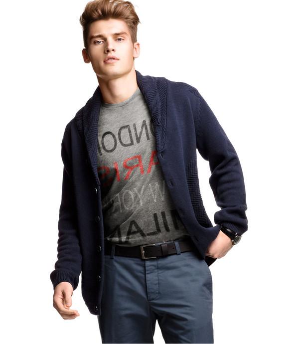 Мужские лукбуки: Zara, H&M, Pull and Bear и другие. Изображение № 35.