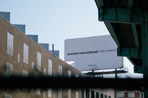 Протокол BitTorrent начал рекламную кампанию в поддержку свободного интернета. Изображение № 7.